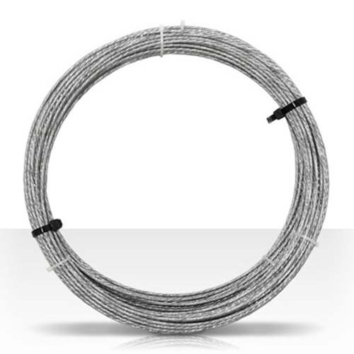 Electrical Mast Support: Guy Wire 100' FT 20 GA 6 Strand Galvanized Steel Antenna